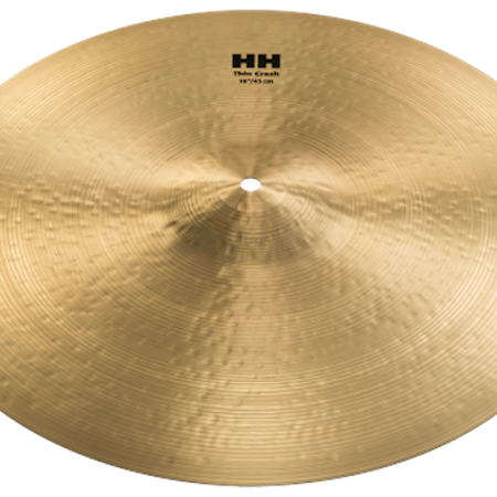 "Sabian 18"" HH Medium Thin Crash"
