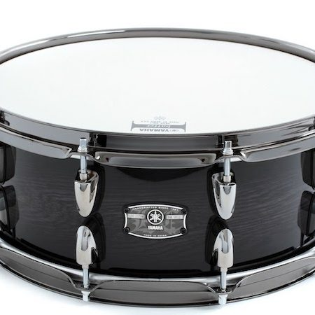 "Yamaha Live Custom 14"" x 5.5"" Snare Drum in Black Shadow Sunburst"