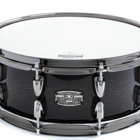 "Yamaha Live Custom 14"" x 5.5"" Snare Drum in Black Shadow Sunburst"