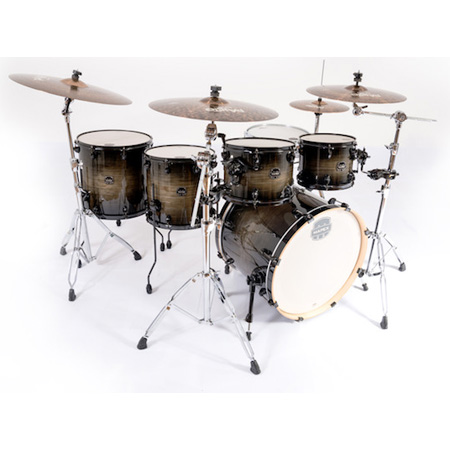 "Mapex Armory Power Fusion 22"" Shell Pack (6pc) in Black Dawn"
