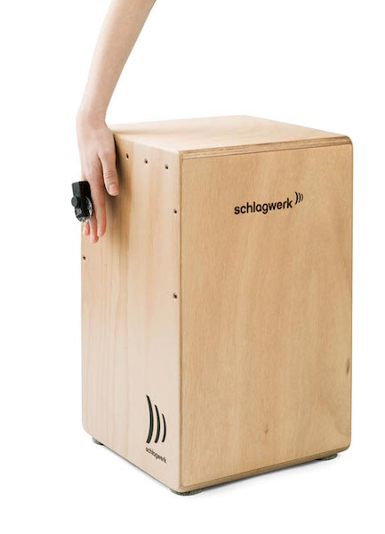 Schlagwerk Cajon Add On Finger Jingle