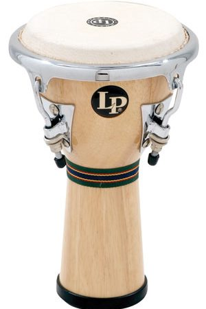 LP Mini Tunable Wood Djembe
