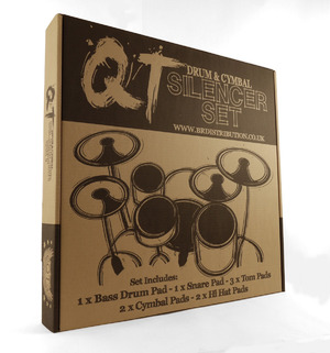 qt drum cymbal silencer pads 22 rock set drum depot uk and cardiff drum store buy online. Black Bedroom Furniture Sets. Home Design Ideas