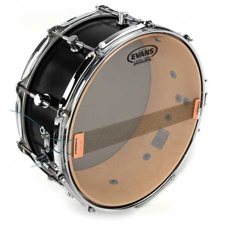 Evans Hazy 200 Resonant Snare Drum Head