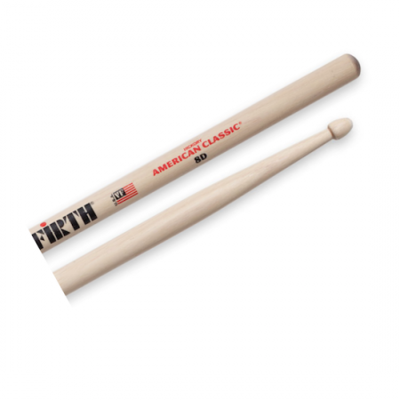 Vic Firth 8D American Classic Wood Tip Drumsticks