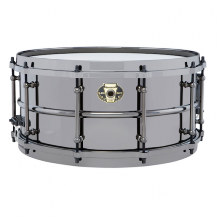 "Ludwig Black Magic 14"" x 6.5"" Snare Drum"