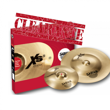 Sabian XS20 Effect Pack
