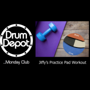 #DDMC-8 Jiffy's Practice Pad Workout - Monday 2nd October 2017