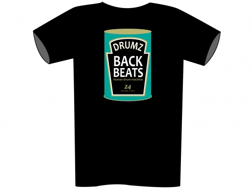 Back Beats T-Shirt