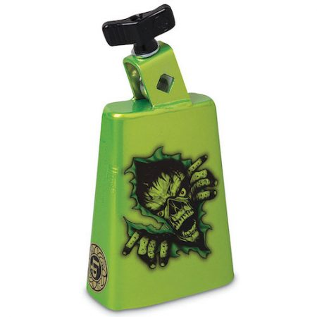 LP Collect-A-Bells Black Beauty Cowbell - Zombie Green