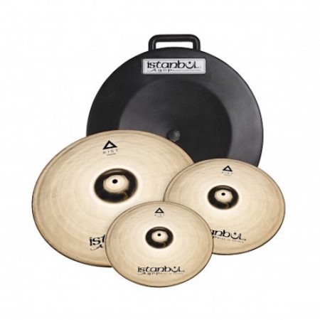 Istanbul Xist Cymbal Set with Hard Carry Case