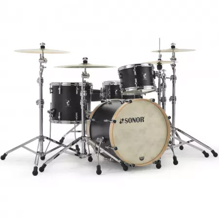 """Sonor SQ1 22"""" Shell Pack (3pc) in GT Black"""