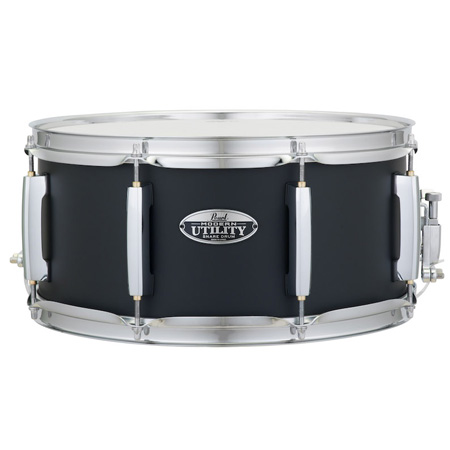 "Pearl Modern Utility 14"" x 6.5"" Snare Drum in Black Ice"