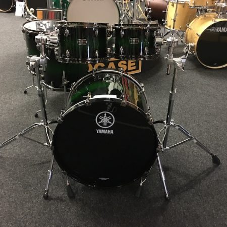 "Yamaha Live Custom 22"" Shell Pack (5pc) in Emerald Shadow Sunburst"