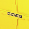 """Hardcase 10"""" Coloured Tom Case in Yellow with foam pads"""