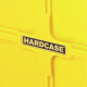 "Hardcase 10"" Coloured Tom Case in Yellow with foam pads"
