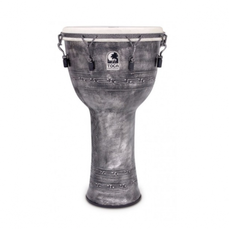 "Toca Freestyle Mechanically Tuned 14"" Djembe with Bag"