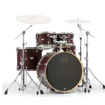 Mapex Mars Rock Fusion (5pc kit with hardware) in Bloodwood