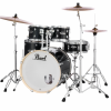 "Pearl Export 22"" Kit (5pc) in Jet Black with Hardware and Cymbals"