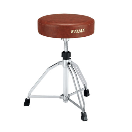 Tama 1st Chair Round Rider Throne Dark Brown