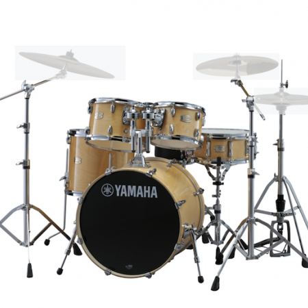 "Yamaha Stage Custom Birch 22"" Kit (5pc) in Natural Wood with Hardware"
