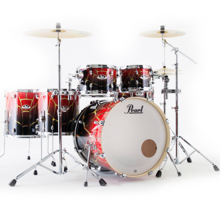 Pearl Export Artisan Limited Edition (6pc Kit) with Hardware in Spiderweb