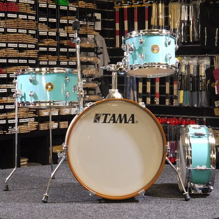 "Tama Club Jam 18"" Shell Pack (4pc) in Aqua Blue"