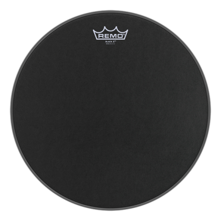 Remo Emperor X Black Suede Drum Head