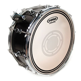 Evans EC1 Reverse Dot Frosted Snare Drum Head