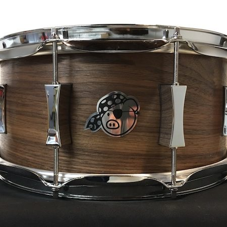 Pork Pie 14 x 6.5 Walnut Snare Drum