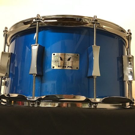 Pork Pie Little Squealer 14 x 7 Snare Drum in Blue Lacquer