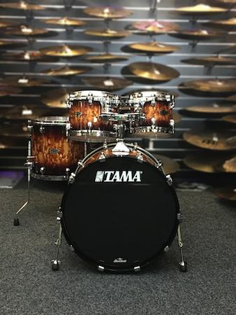 """Tama Starclassic Performer 22"""" Shell Pack (4pc) in Molten Brown Burst"""