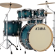 """Tama Superstar Classic 22"""" Shell Pack (5pc) in Blue Lacquer Burst"""