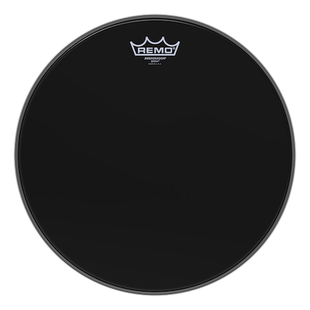 Remo Ambassador Ebony Drum Head