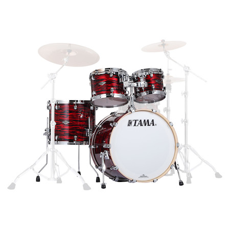 Tama Starclassic Performer 4pc Shell Pack in Red Oyster