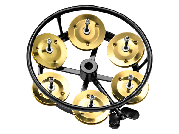 meinl hi hat tambourine with brass jingles in black drum depot uk and cardiff drum store. Black Bedroom Furniture Sets. Home Design Ideas