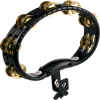 Meinl Mountable ABS Tambourine with Brass Jingles in Black