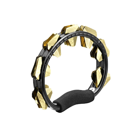 Meinl Super Dry Stainless Jingles Tambourine in Black