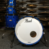 """Pearl Masters Reserve 22"""" Shell Pack (4pc) in Sapphire Blue Sparkle"""