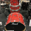 """Pearl Vision Birch LTD Edition 22"""" Shell Pack (4pc) in Tiger Red"""