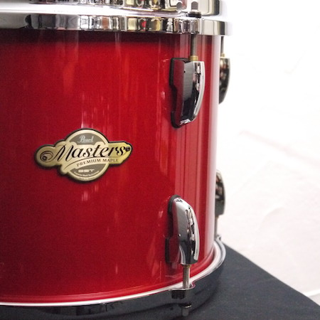 """Pearl Masters Premium Maple 12"""" x 9"""" Tom in Red Pearl"""