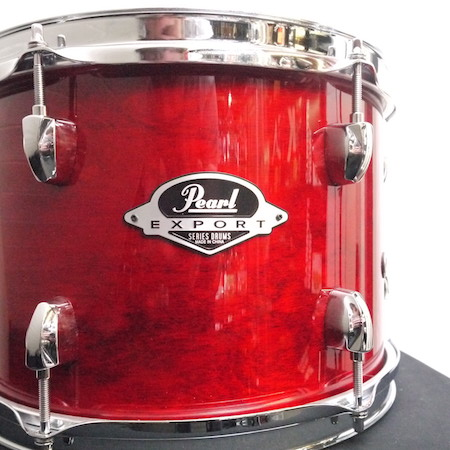 "Pearl Export 12"" x 8 Tom in Natural Cherry"