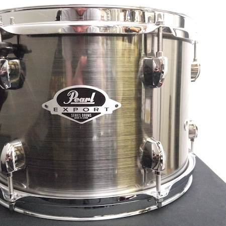 "Pearl Export 12"" x 8"" Tom in Smokey Chrome"