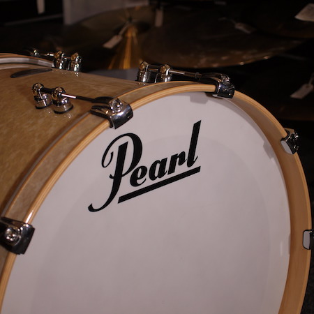 "Pearl Reference Pure 22"" x 16"" Bass Drum in Vintage Marine Pearl"