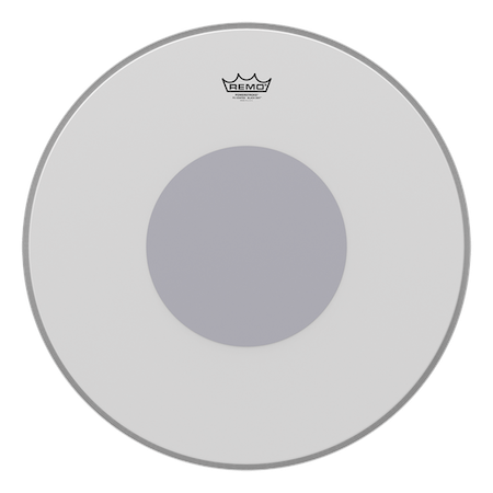 Remo Powertroke 3 Coated Black Dot Bass Drum Head