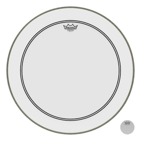 Remo Powerstroke 3 Smooth White Bass Drum Head