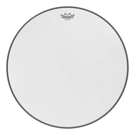 Remo Powerstroke 3 White Suede Bass Drum Head
