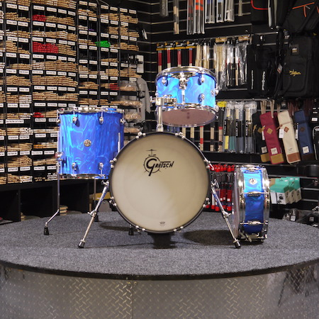 "Gretsch Catalina Club 18"" (4pc) Shell Pack in Blue Satin Flame"