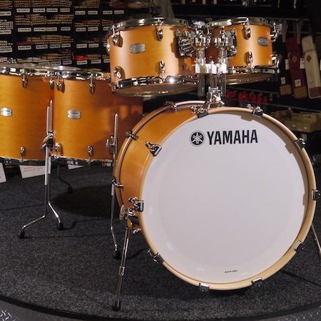 "Yamaha Tour Custom 22"" Shell Pack (5pc) in Caramel Satin"