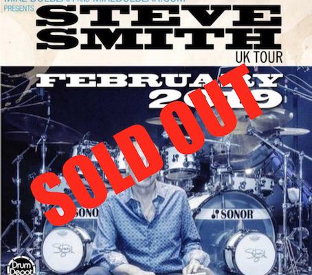 Steve Smith Drum Clinic Ticket
